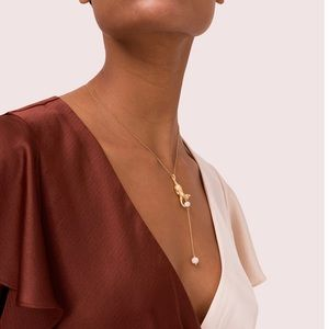 Kate Spade necklace gold